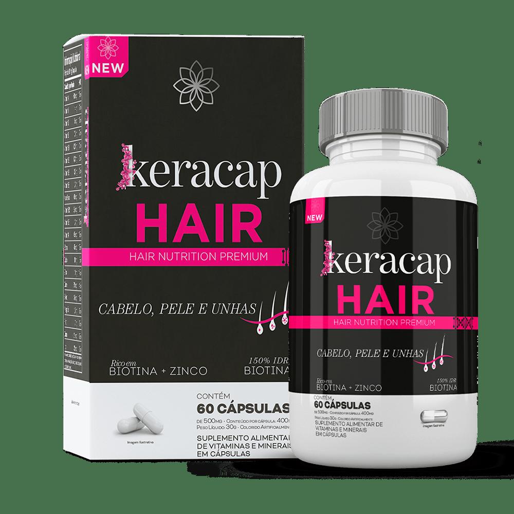 Keracap Hair - 60 Cápsulas